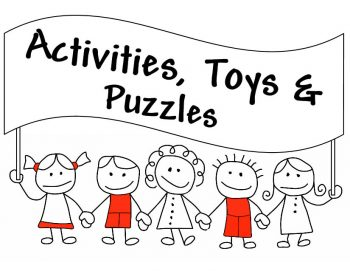Activities, Toys & Puzzles